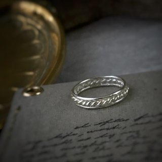 [Jewelry] Jin Xialin ‧ small Victorian romance - Silver Ring