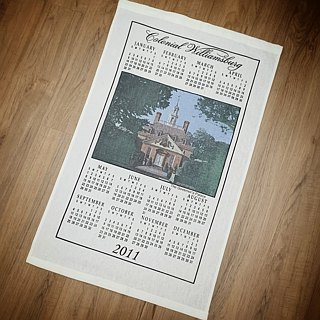 2008 American Early Cloth Calendar The Governor's Palace