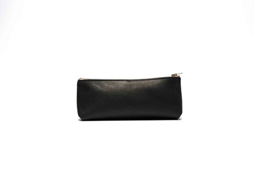 HIKER Leather Studio // Pencil case_Black color