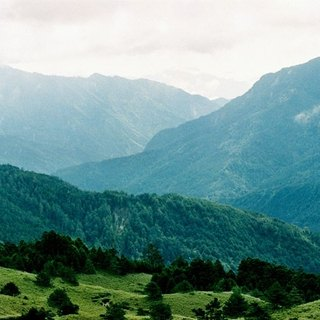 Film Photography Postcard - Travel Series - Hehuan Mountain