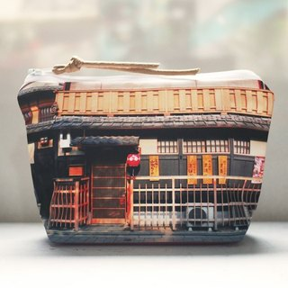 [Have a good trip] dumpling-type cosmetic bag [falls in love with the ancient city]