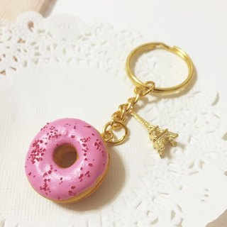 Christmas New Arrivals ~~ ~~ mini strawberry little donut Charm (can be changed magnet) ((over 600 were sent mysterious little gift))