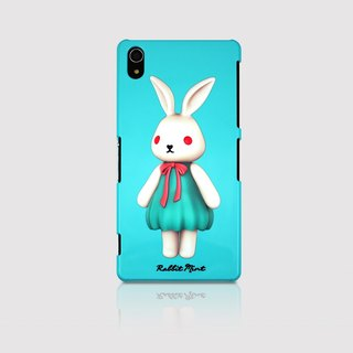 (Rabbit Mint) Mint Rabbit Phone Case - Bu Mali Merry Boo - Sony Z2 (M0002)
