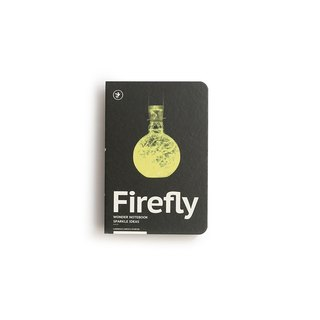 Jiuzhushan original 160page light limited edition firefly series white paper notebook - 04