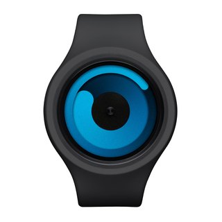 Cosmic gravity + watches GRAVITY PLUS + (black / ocean blue, Black / Ocean)