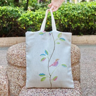 Silverbreeze combo dual-use portable shoulder bags, shoulder bag / backpack Dou - painting birds (S004)