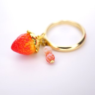*Playful Design* Mini Strawberry Ring