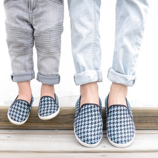 """Baby Day"" totem classic houndstooth paternity shoes ""Women paragraph"" / dazzling blue shoes paternity shoes"