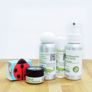 [Green] Green Plus mosquito machine Garden Gift Set baby Confidence lemongrass insect repellent + small Andean · Europa Herbal Healing Balm + Eucalyptus essential oil balls stick