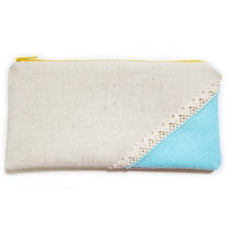 Pencil lightweight non-woven & amp; lace