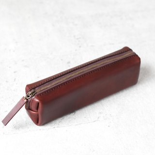Brown classy Leather Pencil Case/Pen Pouch
