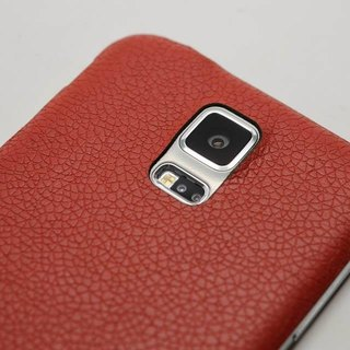 Samsung S5 leather back cover protector