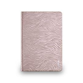 iPad mini 2 & amp; 3 - Zebra Series- zebra Folio - rose gold