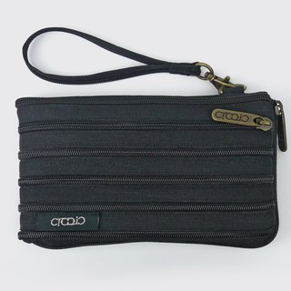 【Black】 side open phone bag iphone 6/7/8 plus