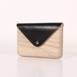 Wooden Cardholder (Black)