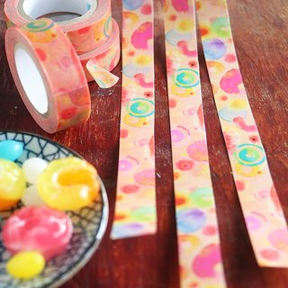 Aloha and paper tape donuts