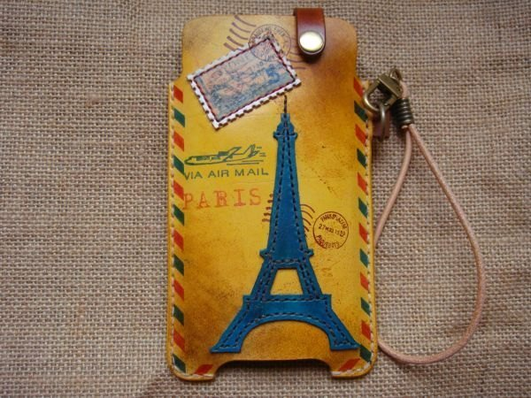ISSIS - I Love Paris - City Handmade Mobile Phone Case