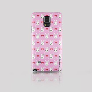 (Rabbit Mint) Mint Rabbit Phone Case - Bu Mali bow Merry Boo - Samsung Note 4 (M0013)