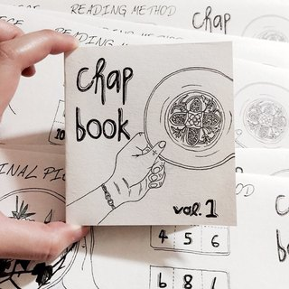 3001 | insert pictures chap Chap Book Vol 1 |. Album | porcelain painting art materials Brochures