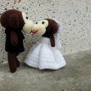 monkey. Wedding Doll (belonging to order your wedding doll)