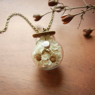 *coucoubird*small white ball necklace