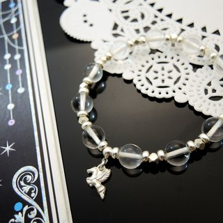 """DREAMLAND fairy tale impression"" leap Pegasus crystal white crystal bracelet"