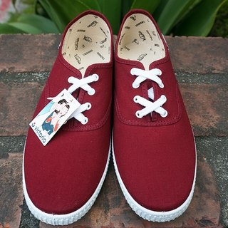 victoria Spanish nationals handmade shoes - red wine BURDEOS (male models) (out of print)