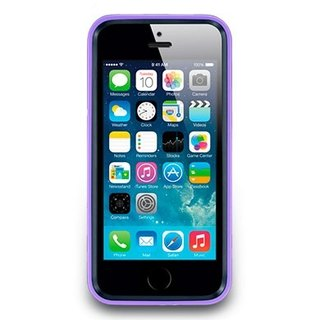 iPhone5 / 5s luxury diamond edition protective frame - Crystal Violet