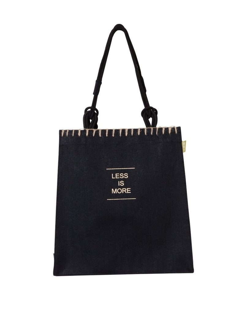 LESS IS MORE KK Jute Bag