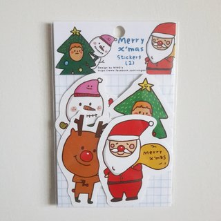 Ning's Christmas stickers # 1