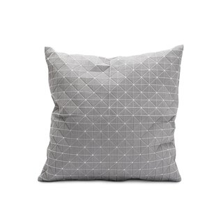 Geo origami pillow gray M