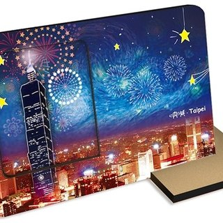 Taiwan Series ~ Shout Taipei ~ 30 seconds sound and light recording card photo frame Famous tourist attractions New Year Festival with hands