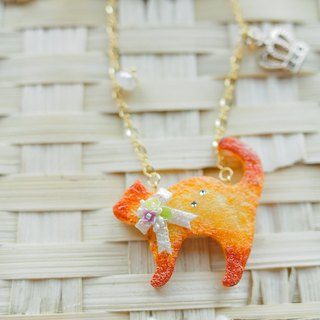 Sweet Dream ☆ elegant lace cat biscuits long chain