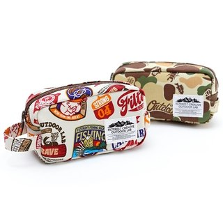 Filter017 - Storage bag - Land of Lost Camo / Outdoor Graphics Pattern Accessory Case Lost to camouflage / Ken Fun Patterns admission package
