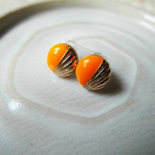 Time Travel vintage reserve pin earrings【Marmalade Girl】