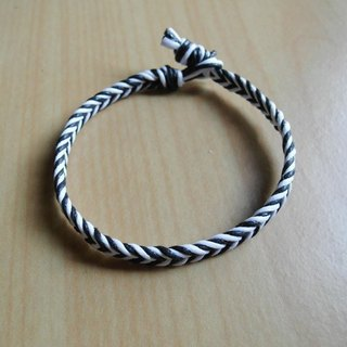Popular stripes / hand-woven bracelet