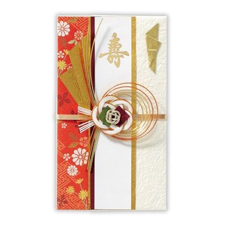 Shouhua red wedding royal wish JP blessing gift gold bag