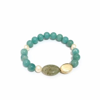 Chic and Trendy Amazonite Bracelet