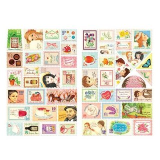 7321 Design - Mini Stamp Sticker Set V3 - Little Anne, 7321-01965