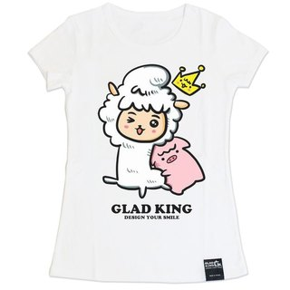 Store GLAD KING mud horse [white short-sleeved T-shirt king mud horse alpaca & amp; Wang Guandi & amp; QQ pig]
