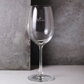 425cc entry-glass lettering [] (cut thin edge) blessing Bordeaux wine glass red wine glass engraved lettering gift introductory paragraph