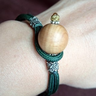 Natural sandalwood beads bracelet (small beads delicate version)