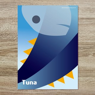 Jiang Tong ‧ Donggang double-series Postcards - Bluefin Tuna
