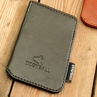 [Dogyball] will be simple and practical with accessories simple wallet Lite Wallet black