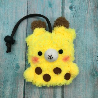 Marshmallow Animal Key Bag - Small Key Bag (Little Giraffe)