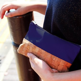Cork Canvas Accessory Pouch