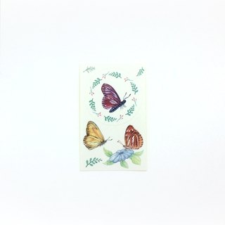 Sticker Purple Butterfly