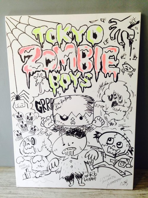 "TTF Live painting ""TOKYO ZOMBIE BOYS"""