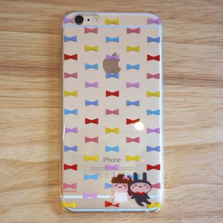 "YanComic continually multiply DISENO iPhone 6 / 6s Plus Phone Case (bow ""bow tie"" paragraph)"