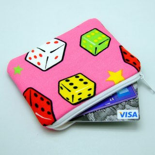 Zipper pouch / coin purse (padded) (ZS-87)